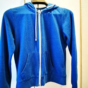 H&M Divided Blue Hoodie zip up Royal Blue